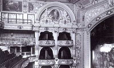 The auditorium